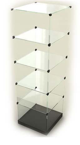 Стеклянныевитрины кубики